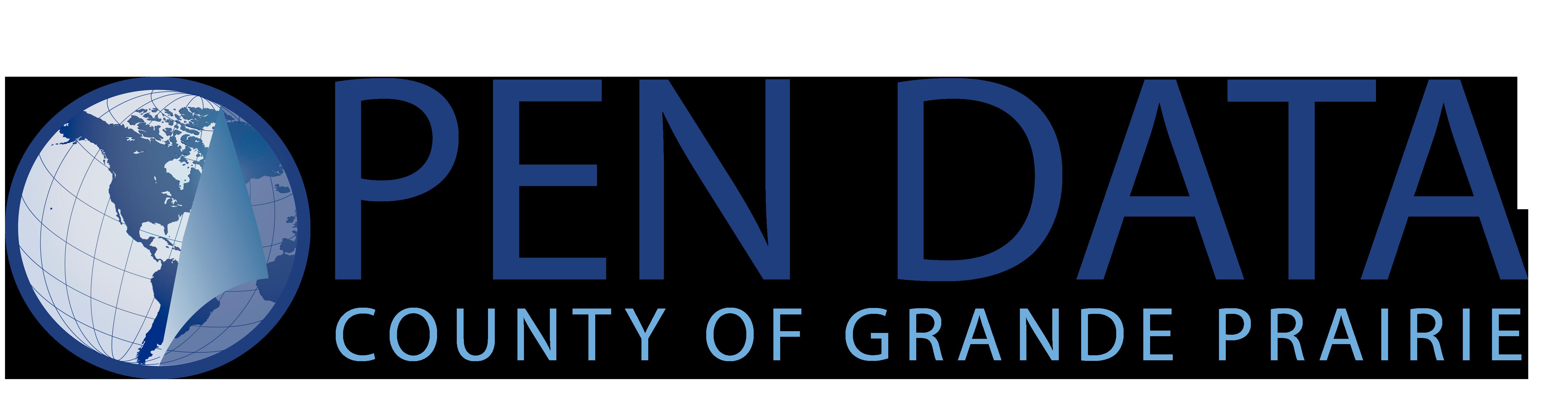 Open Data Catalogue   County of Grande Prairie No  1